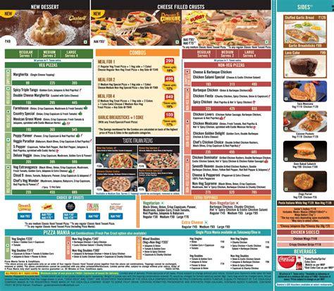 domino pizza menu full menu