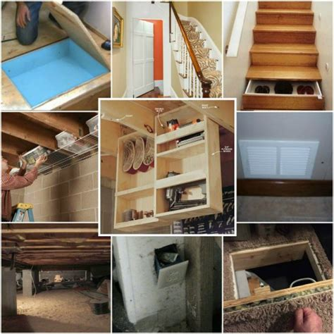hidden storage 15 under home hidden storage ideas