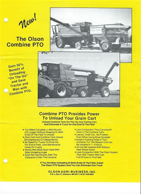 combined towing viewing a thread combine towing grain cart