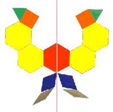 pattern blocks line of symmetry 1000 images about symmetry on pinterest pattern blocks