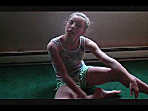 camel toe preteen gymnastics how to do the splits tutorial youtube