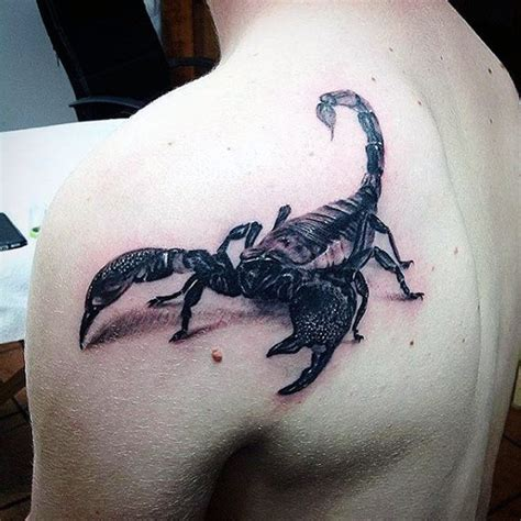 scorpion 3d tattoo designs 60 scorpion designs for ideas that sting