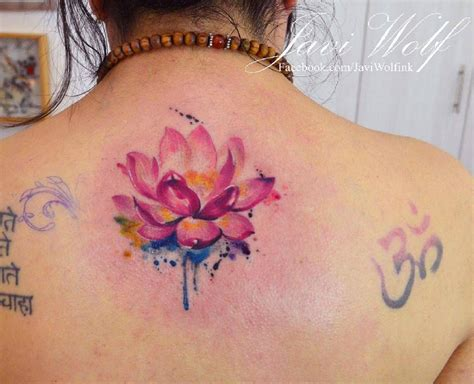 watercolor lotus flower tattoo quot watercolor quot tattoo