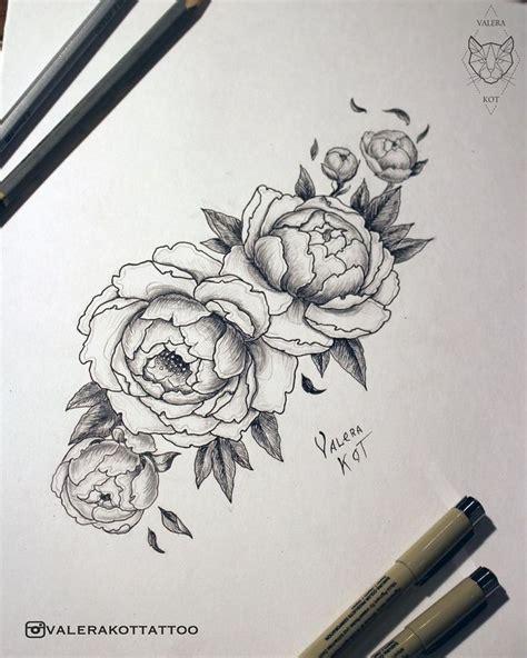 peony rose tattoo 1000 ideas about peonies on tattoos