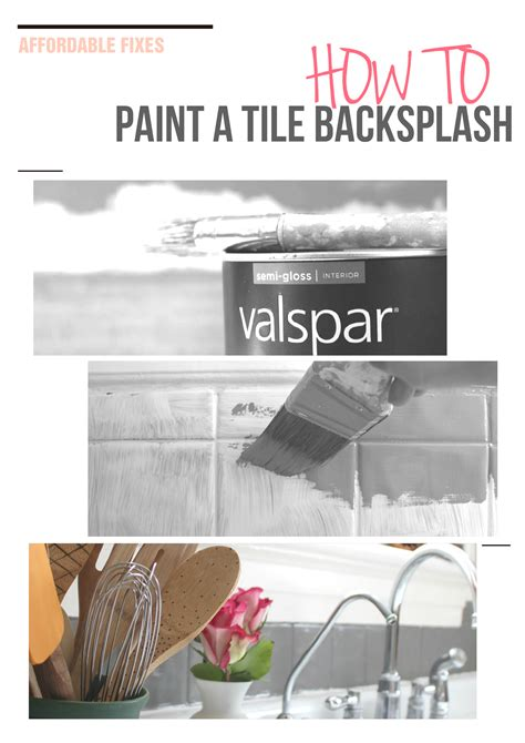 paint kitchen tiles backsplash painting a tile backsplash