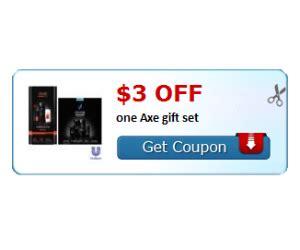 3001 axe gift set printable coupon hot axe gift set coupon save 3 off axe gift sets daily