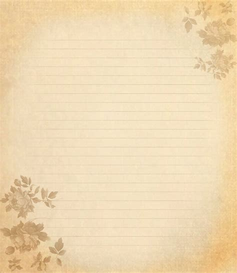 Letter Paper Iii Lighter By Spidergypsy On Deviantart Letter Background Template