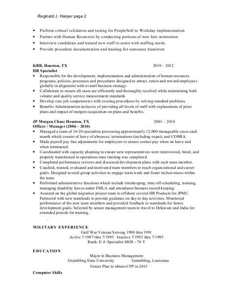 workday resume resume ideas