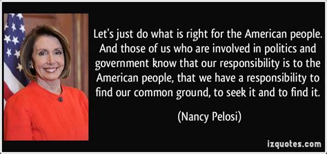 Political Involving by Did Nancy Pelosi Quotes Quotesgram