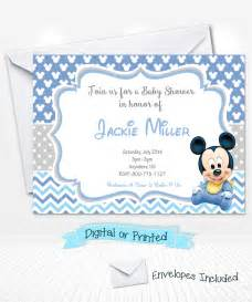 Free Mickey Mouse Baby Shower Invitation Templates by Free Printable Disney Baby Shower Invitations Invitation