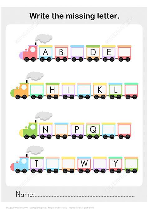 printable missing word games alphabet worksheets missing letter worksheet exle