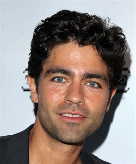 man with curly hair i the movie cruising adrian grenier at wade smith foundation casino poker