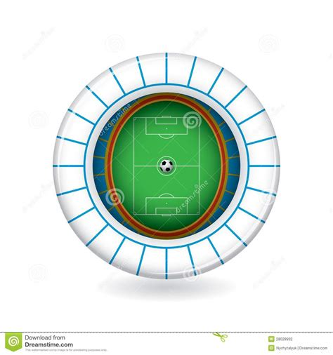 3d Logo Arema vector soccer stadium icon 3d stock vector image 28028932