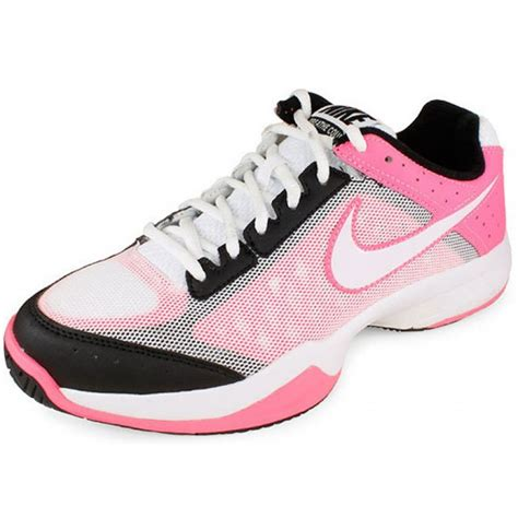 nike cage court pink black s tennis shoes review