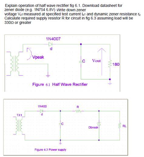 diode data book zener diode data book 28 images for the zener diode voltage regulator circuit det chegg