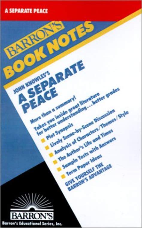Leper A Separate Peace Essay by Mini Store Gradesaver
