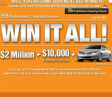 Free Sweepstakes Entry - pch win it all sweepstakes sweeps maniac