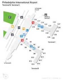 us airways map airport phl airport map phl terminal map