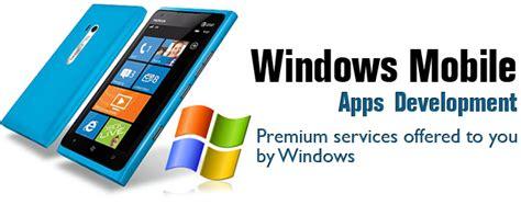 windows mobile app development windows mobile application technology development