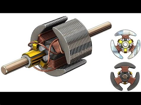 solidworks animation tutorial of stator rotor assembly solidworks a tutorial 203 car engine advanced assembly