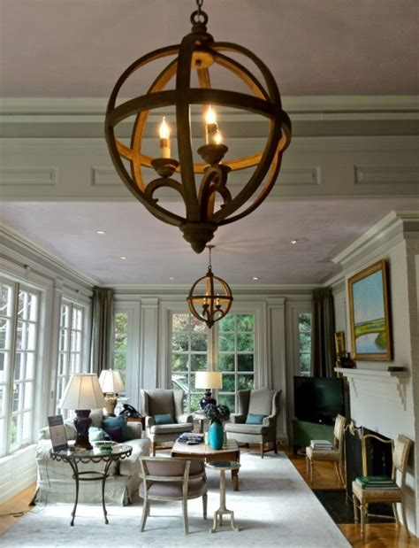 Orb Chandelier Dining Room The S Project The House
