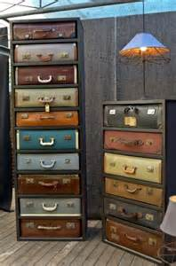 Ikea Nightstand Lamp 20 Diy Vintage Suitcase Decorating Ideas Oh My Creative