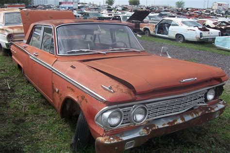 Ford Fairlane Parts by 1962 Ford Fairlane 500 Parts