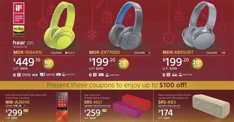 sony new year promotion malaysia sony year end promotion up to 100 on headphones and
