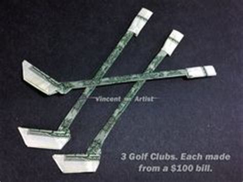 How To Make A Paper Hockey Stick - money origami hockey stick dollar bill made with