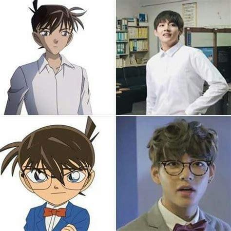 kim taehyung anime kim taehyung is living anime army s amino