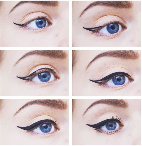 tutorial using eyeliner how to apply eyeliner perfectly step by step guide tutorial