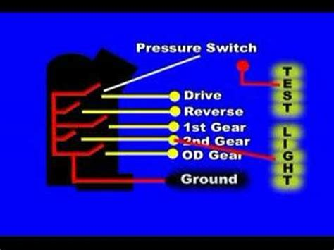 transmission range  neutral switch youtube