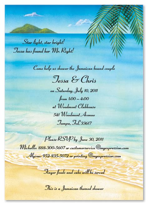 beach themed birthday quotes tropical invitations template best template collection