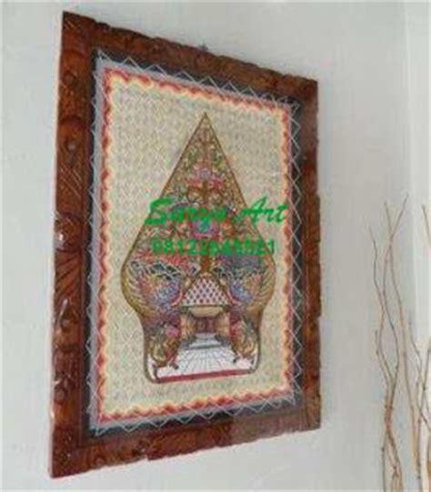 Lukisan Wayang Wayang Werkudara Bima Kulit Kambing Fu Murah kerajinan wayang kulit souvenir khas jawa suryo lukisan hiasan dinding