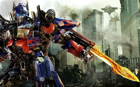 wallpaper 3d transformer optimus prime in transformers 3 wallpapers hd wallpapers
