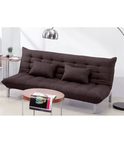 madison sofa bed madison sofa bed dark brown buy online at best price in