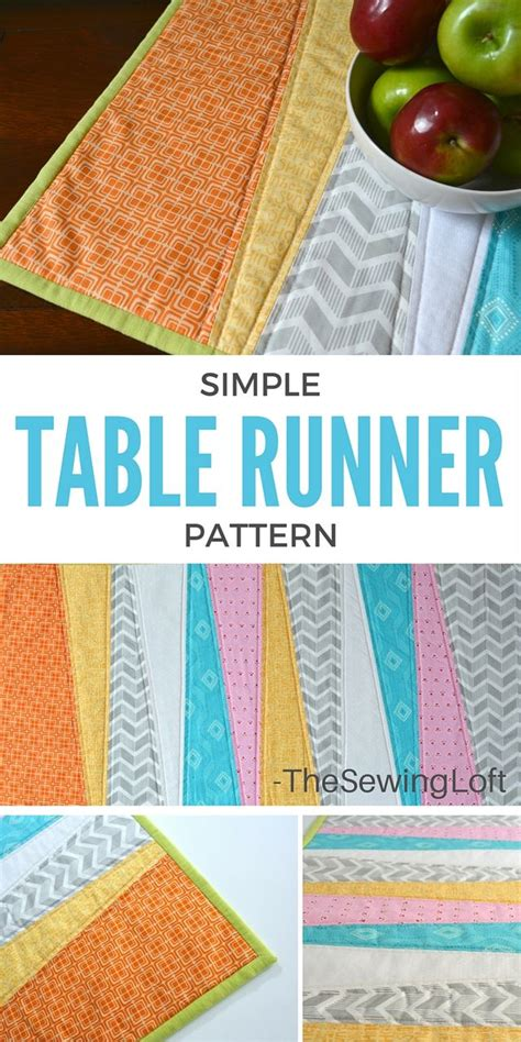 3 quick fall decorating tips total mortgage blog simple table runner diy the sewing loft bloglovin
