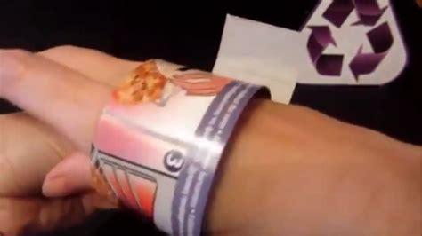tutorial kerajinan tangan lu hias membuat gelang hias cara membuat gelang dari kertas bekas