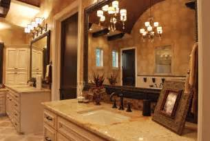 Bathroom Lighting Fixtures Over Mirror by Elegant Bathrooms In The Texas Hill Country By Stadler