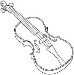 violin coloring page education resources