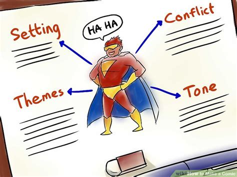 make a comic how to make a comic with sle comics wikihow