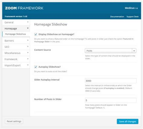 theme zoom blog medicus review wpzoom corporate theme must read