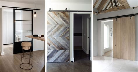 contemporary barn doors 10 exles of barn doors in contemporary kitchens