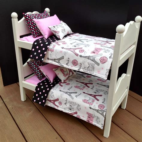 doll beds for american dolls american doll furniture bunk beds with by bedsandthreads