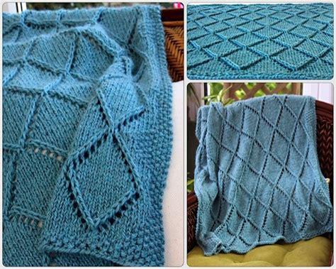 diamond pattern in knitting diamonds points