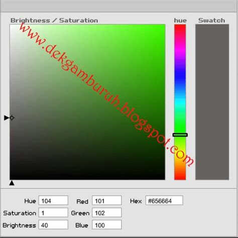 Melva 2 Warna S kode warna html