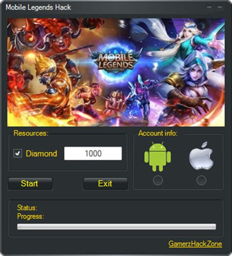 mobile legends hack diamond mobile legend wallpaper