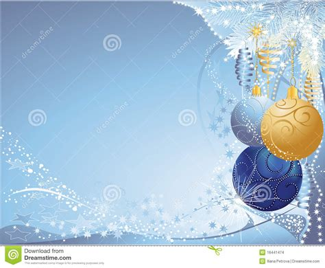 blue and gold christmas stock images image 16441474