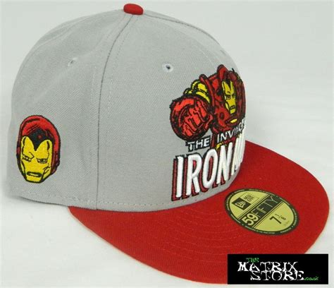 Era Marvel new era hat iron marvel