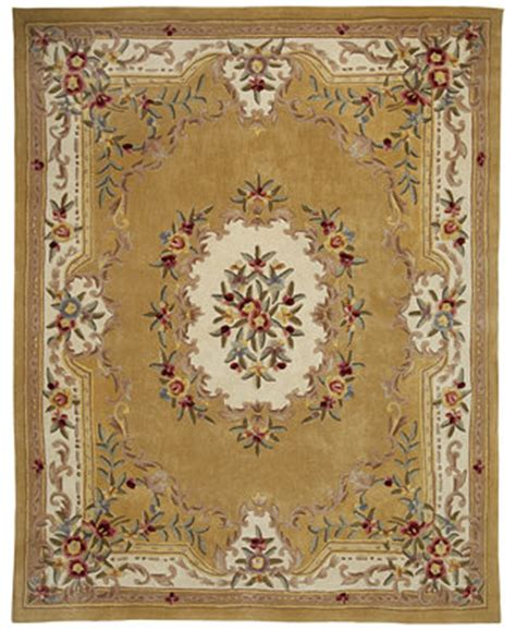 kenneth mink wool rugs kenneth mink majesty aubusson gold 7 6 quot x 9 6 quot area rug rugs macy s